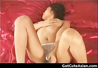 thai hottie stabs her pussy with a sex tool part9