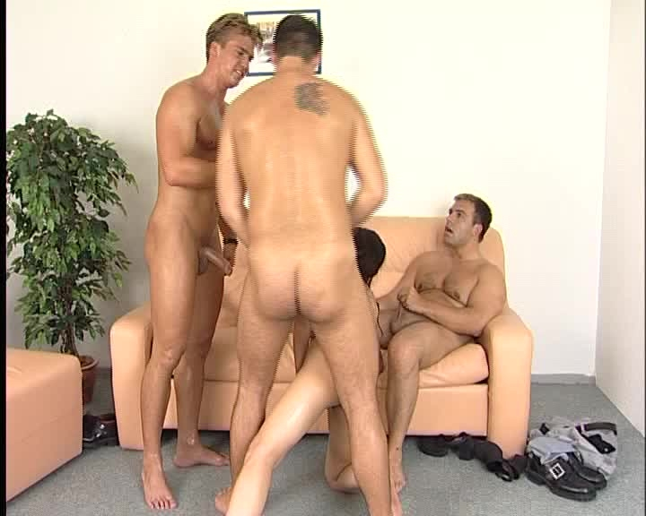 german gang-bang - julia reaves